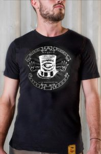 Blood & Whiskey Stovepipe Hat T-Shirt