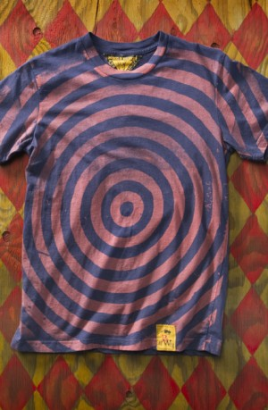 Concentric Navy T-Shirt