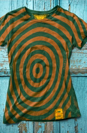 Concentric Black T-Shirt